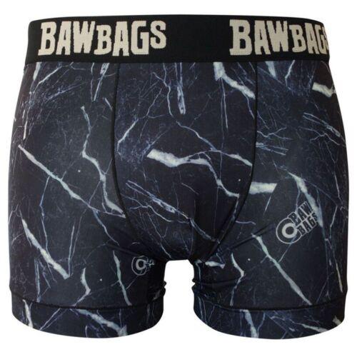 Bawbags NEW Men/'s Cool De Sacs Marbawl Boxer Shorts Multi BNWT