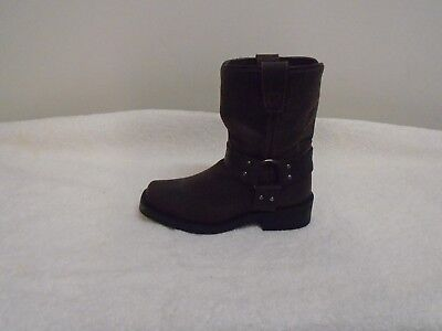 """Clothing, Shoes & Accessories Precise Durango Dbt0126 8"""" Kids Leather Harness Boots Brown 9.m New"""