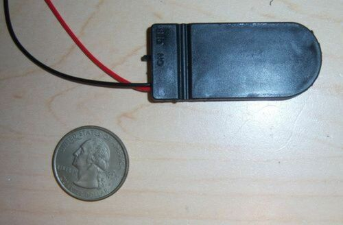 2x Battery Holder 2032 Button Cell Case ON//OFF switch Coin 6 volt Output USA