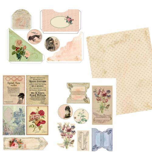 EZ-7108 Vintage Lady Junk Journal DIY Kit