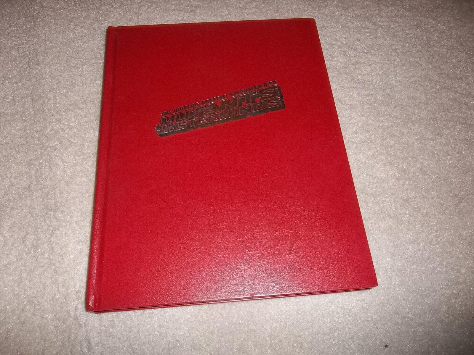 garantía de crédito Mutantes y Masterminds 2nd Ed Ed Ed Core normativa Edicion Limitada Lujo  de moda
