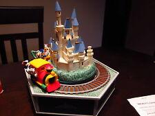 RARE Enesco Style Disney Mickey's Express Action/Lites 30 Tune Music Box MIB