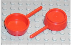 LEGO Red Fabuland Utensil Frying Pan