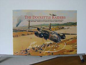 The-Doolittle-Raiders-B-25-Tokyo-Raid-Robert-Taylor-Aviation-Art-Brochure