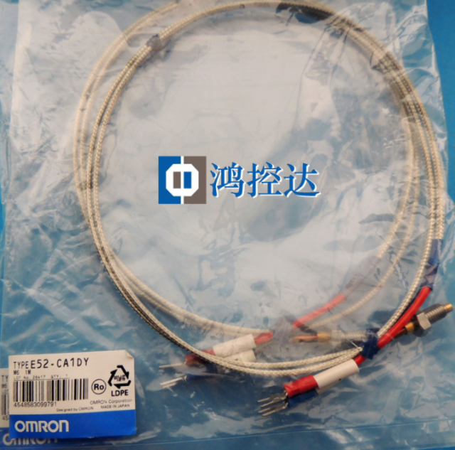 1PC New Omron Thermocouple Probe 2M E52-Ca1d M6