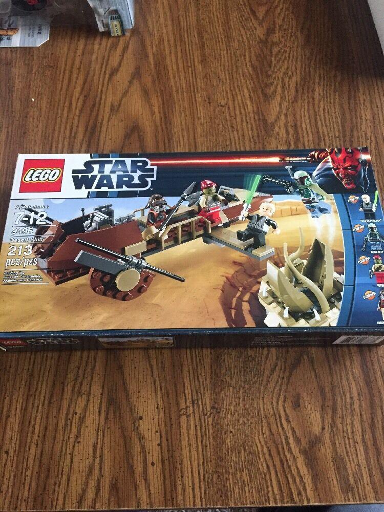 LEGO 9496 Desert Skiff Skiff Skiff Star Wars series New in Box 7a3d43