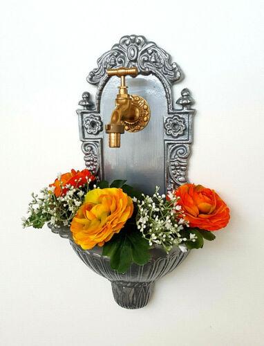 Stilarts Wandbrunnen komplett Waschbecken Becken Garten Vintage antik Bassena 39
