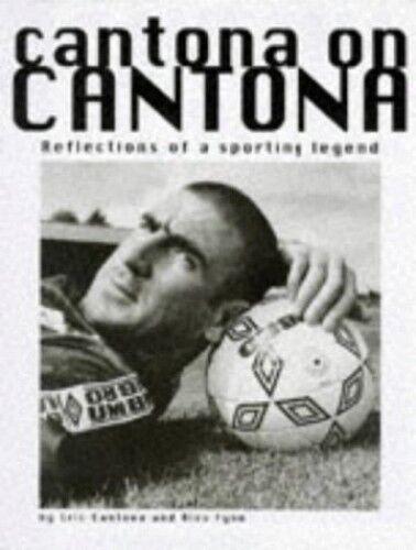 1 of 1 - Cantona on Cantona by Alex Fynn Hardback Book The Cheap Fast Free Post