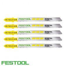 K//5 4 Festool 204267 Festool Jigsaw Blade s 75//1
