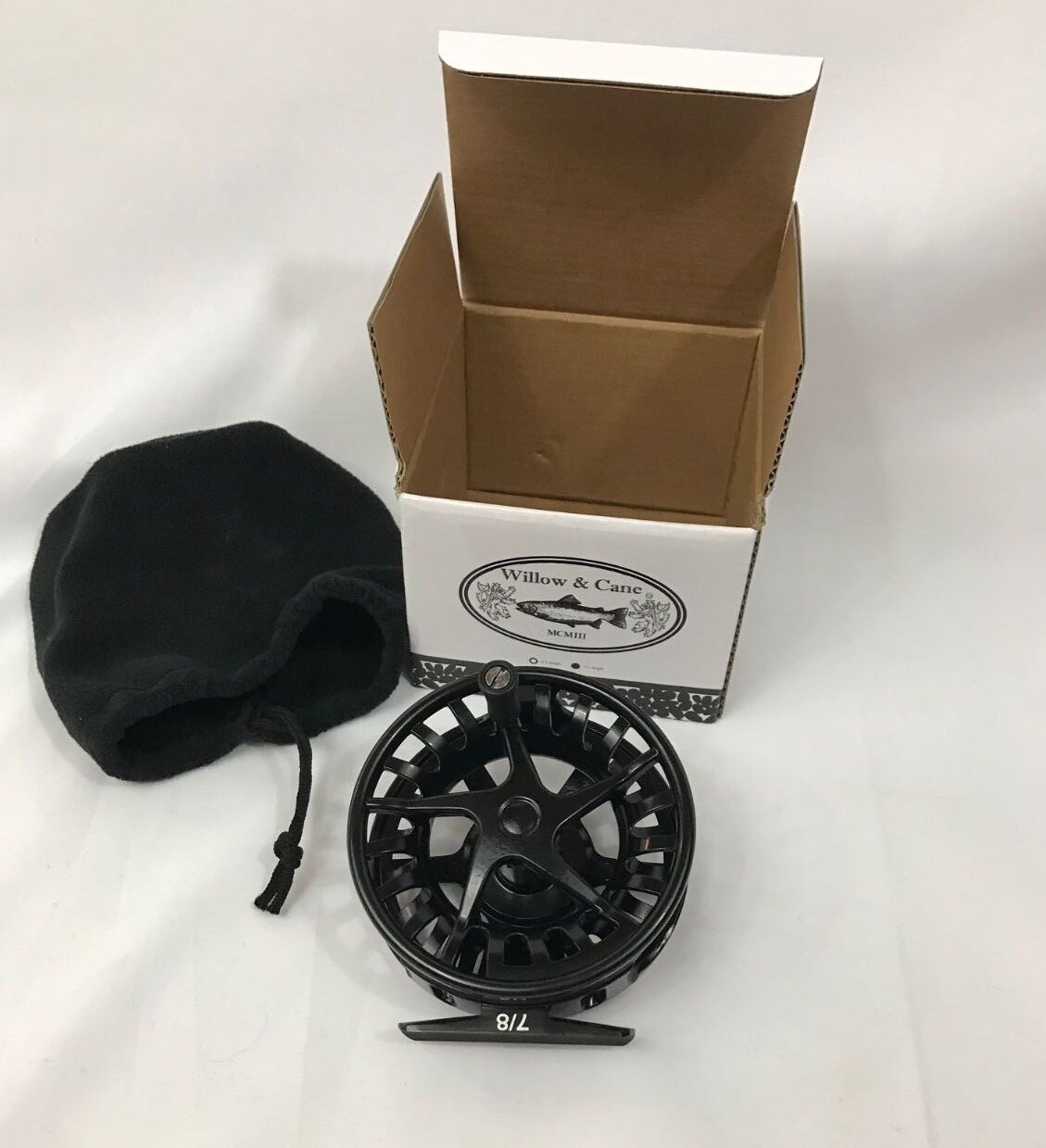 Fly Fishing Reel 7/8 Weight - All Alum WCX - NEW Christmas Holiday Dad Pop Son