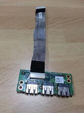 Fujitsu Siemens Esprimo Mobile V6555  scheda USB board card + flat cavo cable