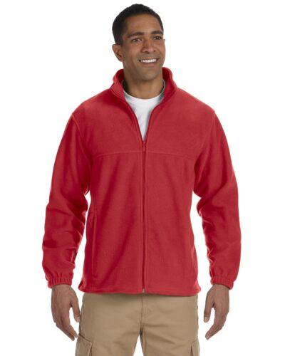 Harriton Mens Full-Zip Fleece Jacket S-4XL M990
