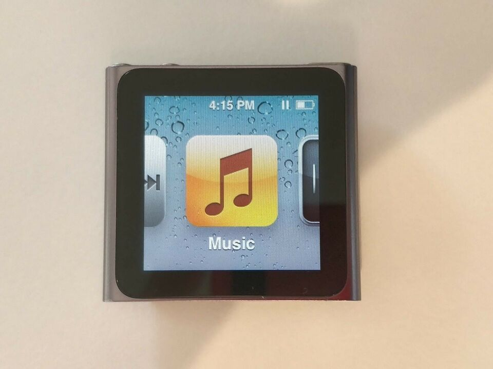 iPod, Nano 6th generation, 8 GB
