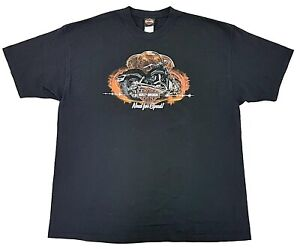 Vintage-Harley-Davidson-Need-For-Speed-Tennessee-Tee-Black-Size-XXL-Mens-T-Shirt
