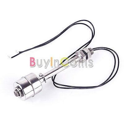 Stainless Steel Tank Pool Liquid Water Level Sensor Horizontal Float Switch BA