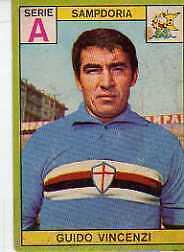 FIGURINA CALC PANINI 1968//69-NAPOLI-ALTAFINI BB