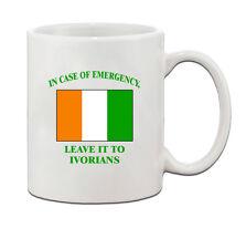 In Emergency Leave It Ivorians Ivorian Ivory Coast Ceramic Coffee Tea Mug Cup