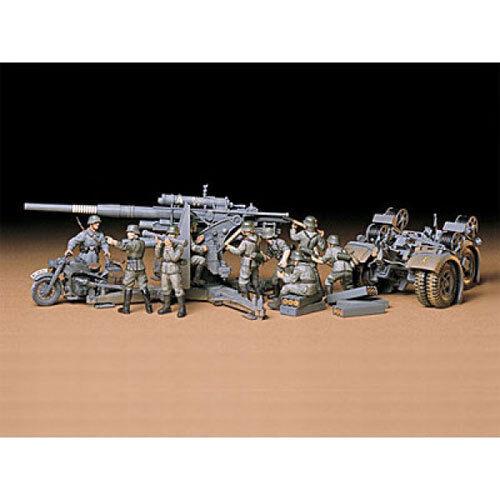 Tamiya 35017 arma 88mm Flak 36/37 1:35 Modelo Militar Kit