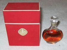 Vintage Nina Ricci Farouche Lalique Perfume Bottle/Box 1 OZ Sealed 3/4 Full