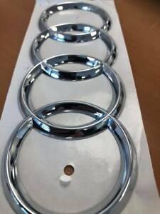 Logo Rings AUDI Trunk AUDI S6 C5 (1998-2005) Original Manufacturer