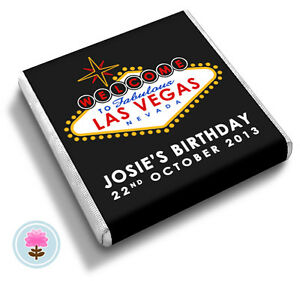 poker chip 100 Personalised to suit Birthday Chocolates