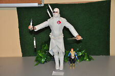 F632 GI joe Rise of cobra ROC storm shadow with sound and arm movement compl