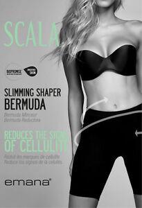 e4e9079ca4c17 Image is loading SCALA-BioPromise-Anti-Cellulite-Shapewear-Slimming-BERMUDA