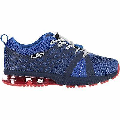 Cmp Sneakers Scarpe Sportive Kids Knit Fitness Shoe Blu Traspirante Leggero-mostra Il Titolo Originale Belle Arti
