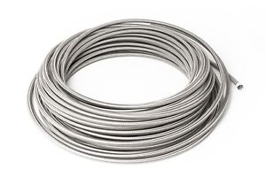 Dash-4-Ptfe-Braided-Stainless-Steel-Brake-Lines-0-5m-0-3-16in-AN4-JIC4