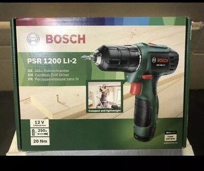 Bosch Akku-Bohrschrauber PSR 1200 LI-2 NEU in OVP