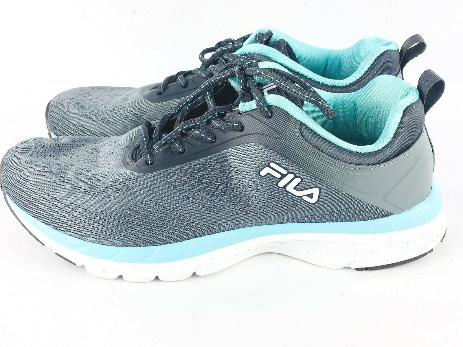 Fila Women's 9 Memory Outreach Shoes Foam Athletic Gray Mint Price reduction The latest discount shoes for men and women