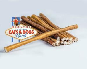 "6"" Inch Bully Sticks North American Beef - Dog Chew & Treats Made in USA"