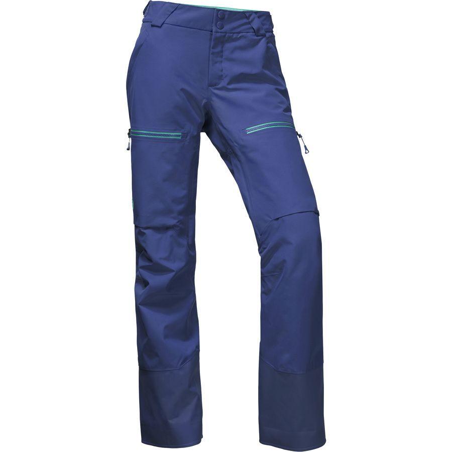 The North Face Women's POWDER GUIDE GORE-TEX Warm Ski Pants Inauguration bluee  M