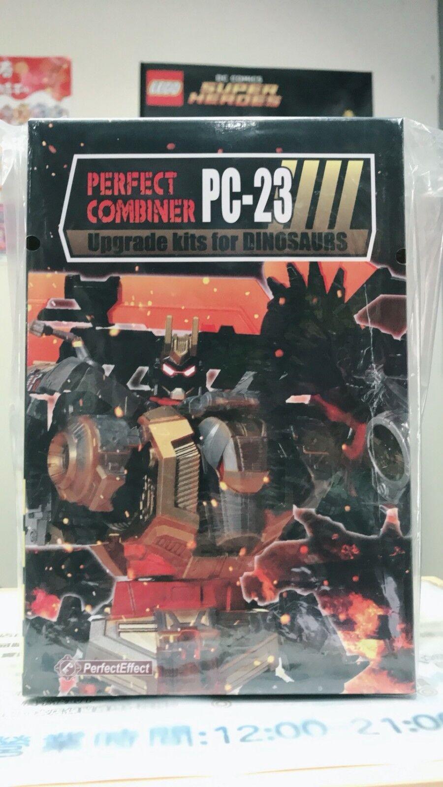 NUOVO in azione Transformers effetto perfetto PC-23 UPGRADE Set per DINOROBOT SCENDETE NUOVO IN SCATOLA SIGILLATA