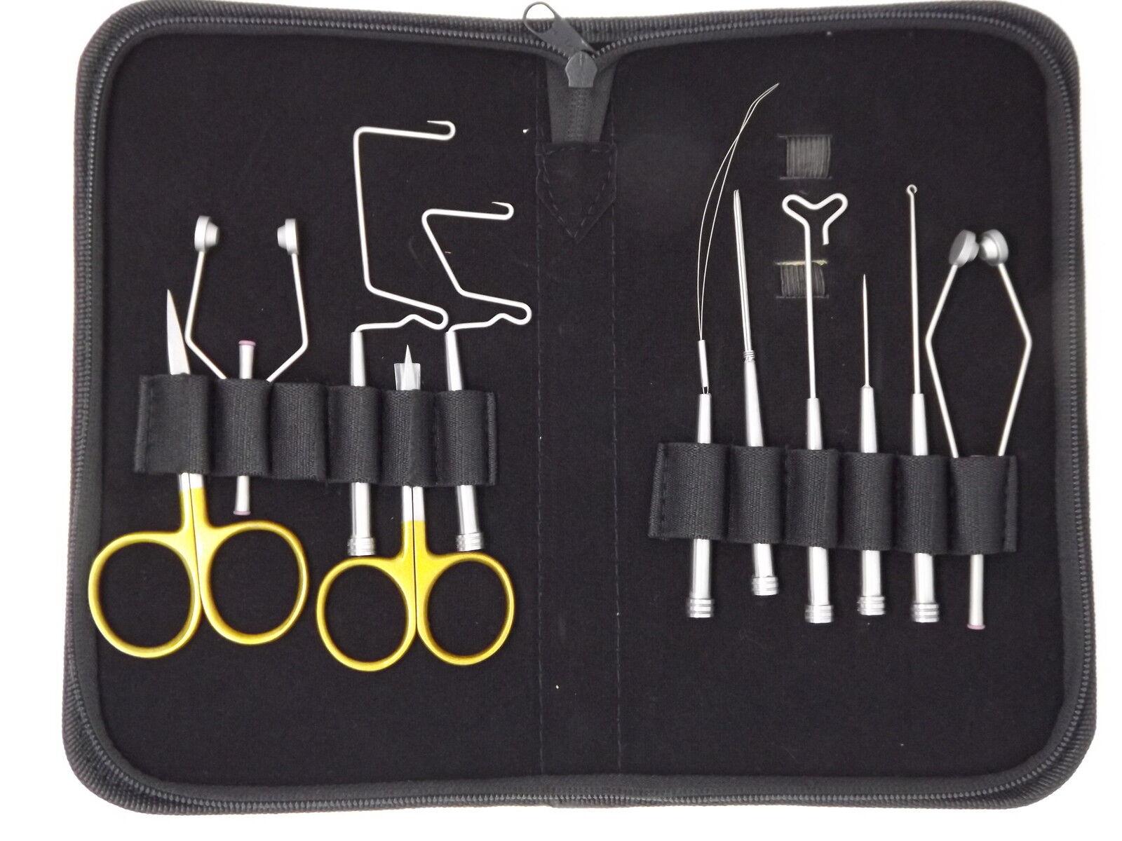 Svv Fly Tying Tool Kit, Fly abbinamento di materiali, strumenti