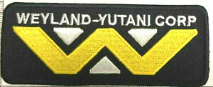 WELAND-YUTANI-CORP-Logo-Embroidered-Sew-on-Iron-on-Patch-Logo