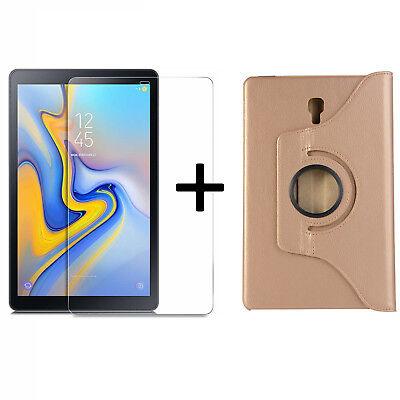 Brioso Set Per Samsung Galaxy Tab A 10.5 Sm-t590 T595 Case Cover Guscio + Vetro Di Protezione- Garanzia Al 100%