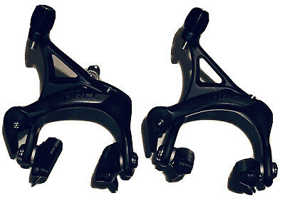 Road Bike C Shape V Brakes Caliper Dual Pivot Brake Calipers Fixed Front Rear Set Cycling Accessory