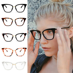 Retro-Cat-Eye-Eyeglasses-Frames-Women-Clear-Lens-Computer-Optical-Eyeglass-Frame