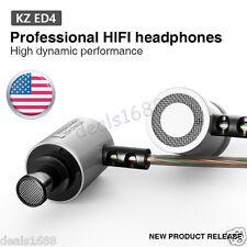KZ-ED4 Pro Subwoofer HIFI Earphone Headset HD Stereo Monitoring Ear Headphones