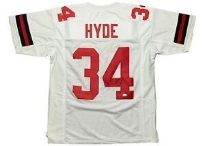 Carlos Hyde Ohio State Buckeyes Football Jersey - White