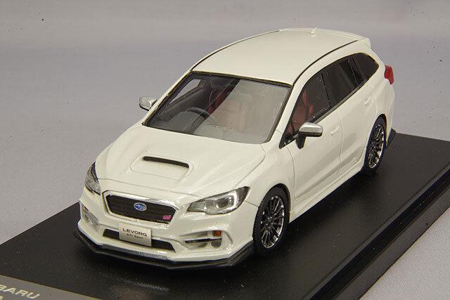 1/43 Hi-Story Subaru Revor 2.0 Sti Deportes Ojo sitio 2018 Cristal Blanco HS201WH