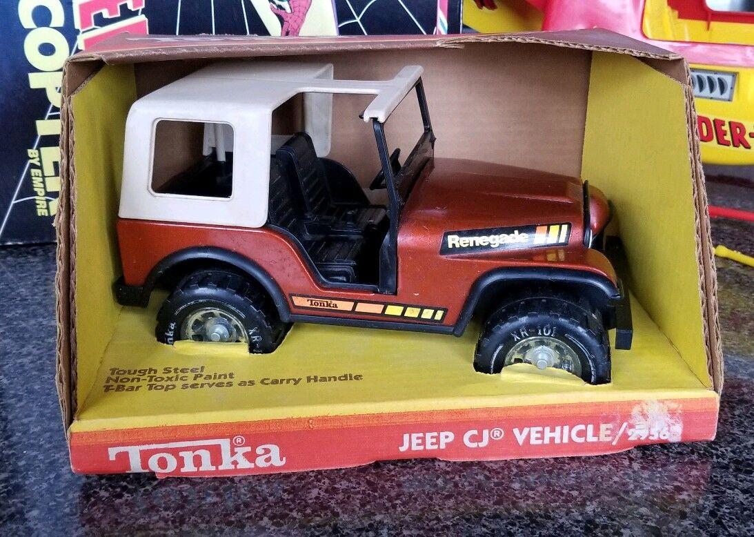 ventas directas de fábrica Vintage Tonka Jeep Renegade Cj-7 Cj-7 Cj-7 2956 - 1978 MIB súper Cool  almacén al por mayor