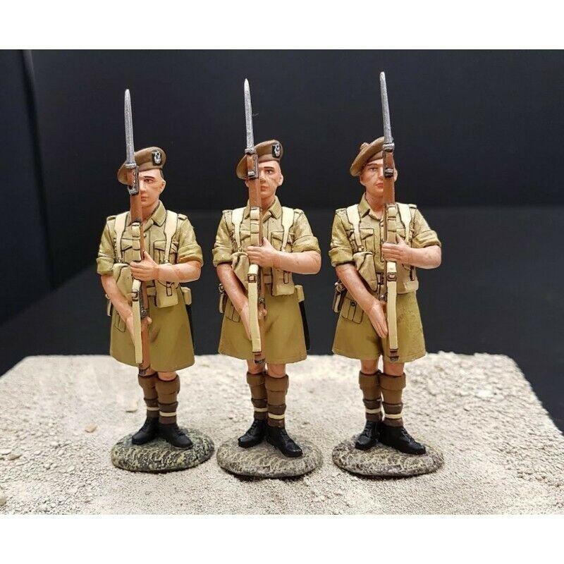 King & COUNTRY-3 Gordon Highlanders Escocés Tel el Kebir , 1942 África EA033