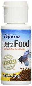 Aqueon Betta Food, 0.5 Oz