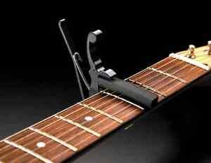Kyser Kgeb Guitare électrique Capo Noir-afficher Le Titre D'origine Handicap Structurel