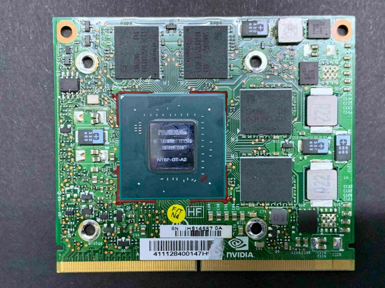 NVIDIA GeForce GTX 950M 4GB GDDR 5 MXM3.0 Tybe