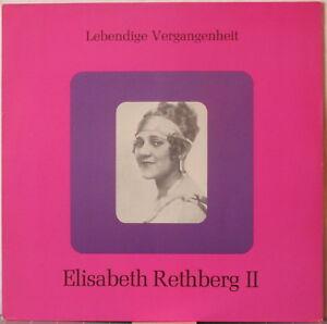 ELISABETH-RETHBERG-II-LP-Historic-Recordings-on-Lebendige-Vergangenheit