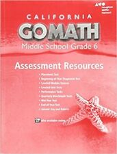 Grade 6 go math assessment resources with answers middle school 6th grade 6 go math california middle school assessment resources with answers 6th fandeluxe Choice Image