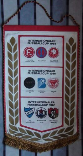 Pennant RotWeiß Erfurt, East Germany, matches in European tournaments